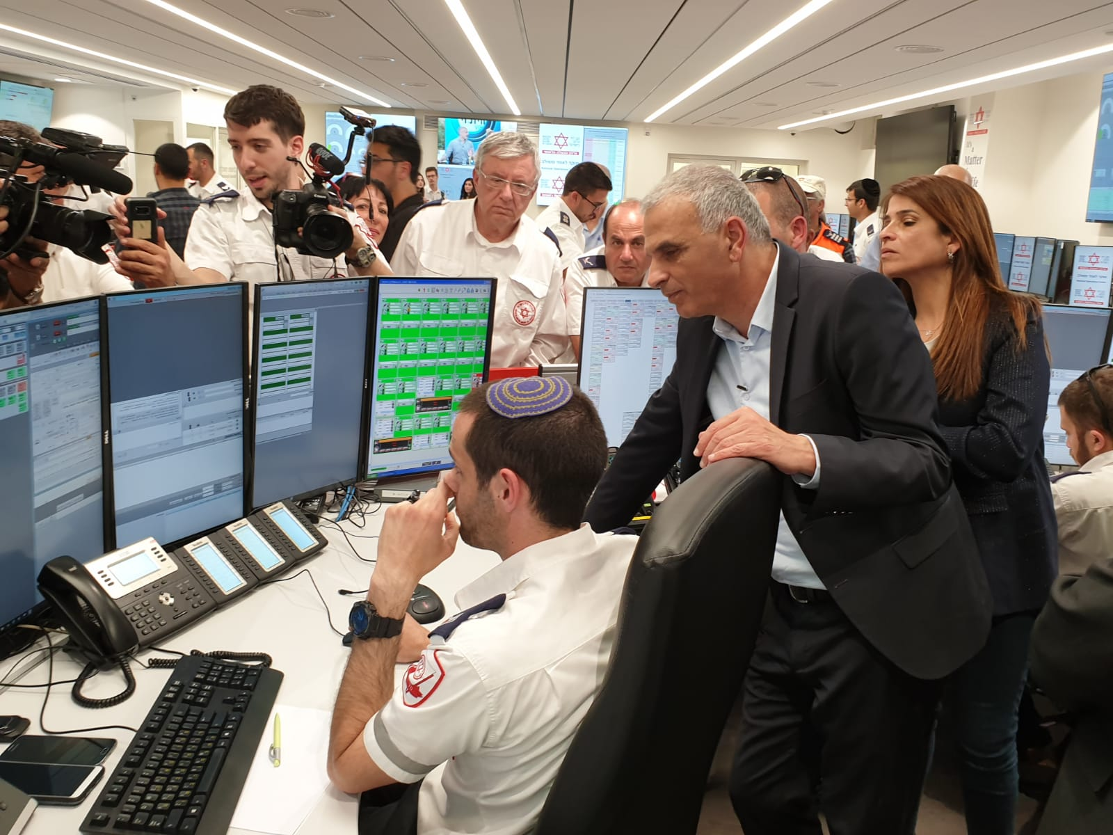 Magen David Adom Moves Its National Dispatch Center