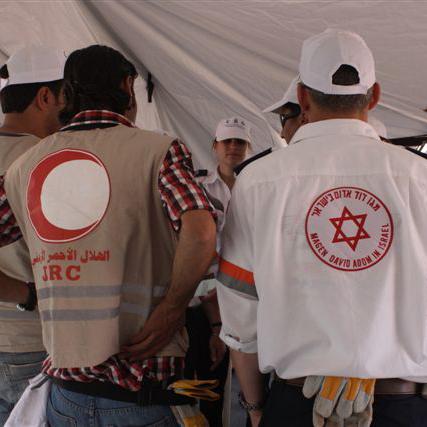 Medical teams of JRC and MDA22